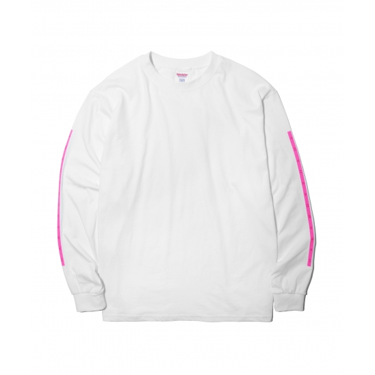 BOX LONG SLEEVE (NEON PINK)