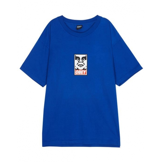 OBEY ICON FACE ROYAL BLUE