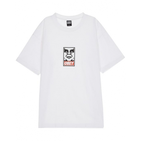 OBEY ICON FACE WHITE