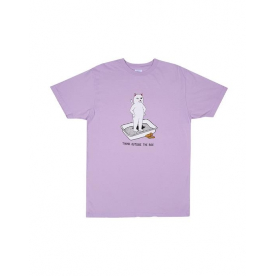 Think Outside Tee - Lavender