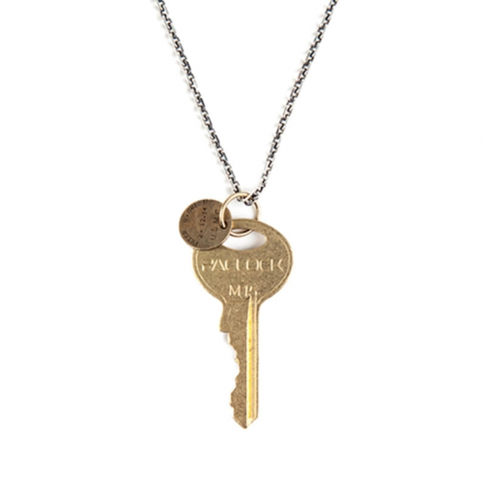164# CHICAGO KEY NECKLACE