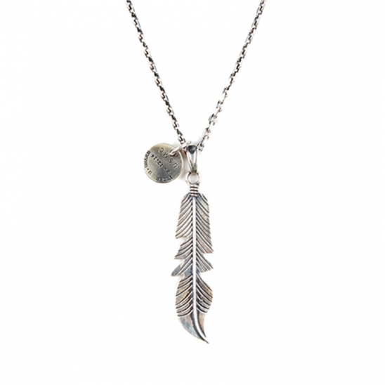 135# NAVAJO FEATHER NECKLACE