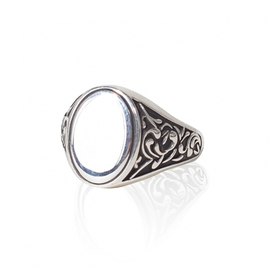 398# CLASSIC OVAL RING