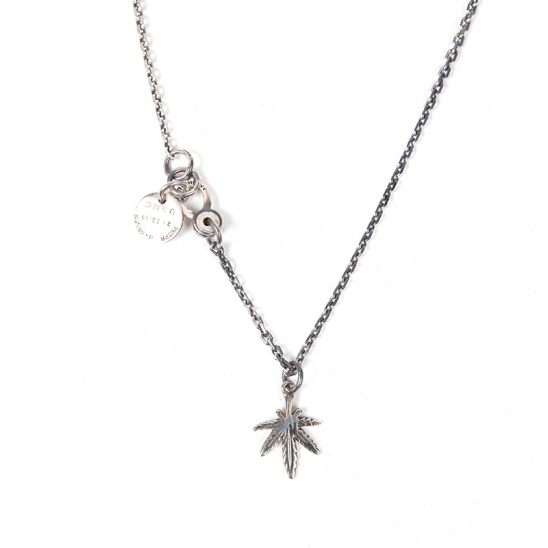 349# SMALL CANNABIS NECKLACE