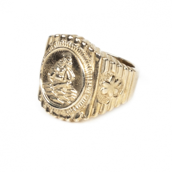 159# OLD SAILOR RING-BRASS