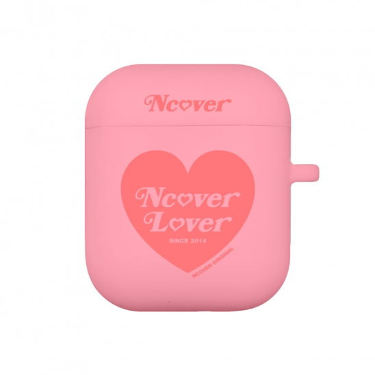 Heart lover-pink(airpods jelly case)