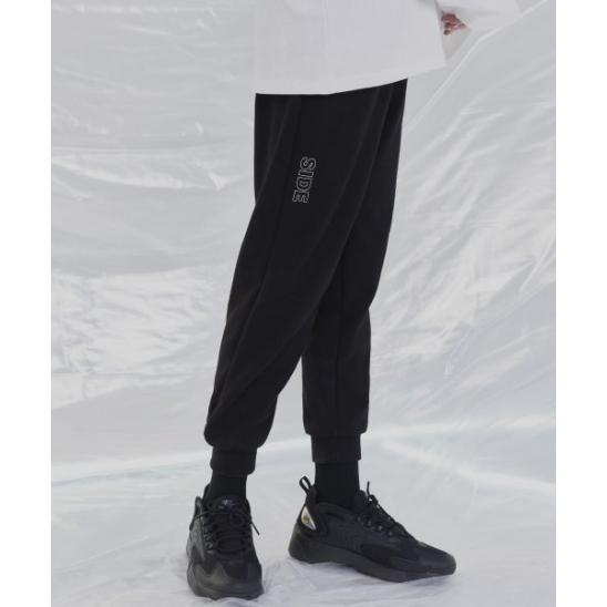 [UNISEX]ERRATIC SWEAT PANTS (BLACK)