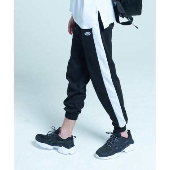 [UNISEX]INCISION JOGGER PANTS (BLACK)