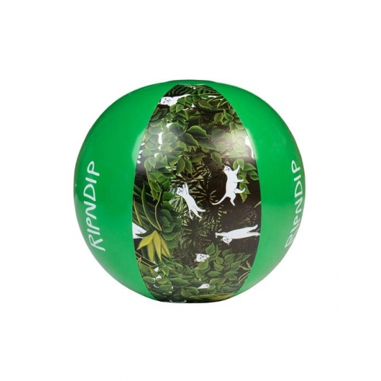 Jungle Nerm Beach Ball - Green