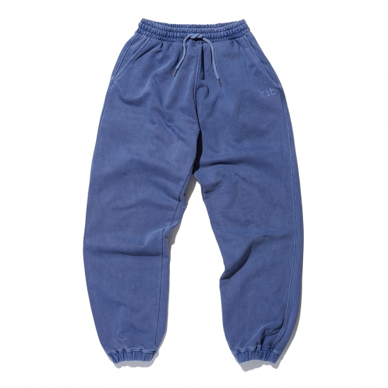 Logo pigment sweat pants