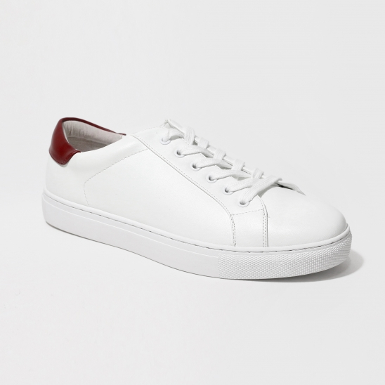 Wine Point White Sneakers