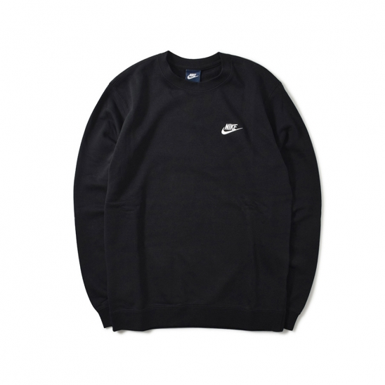 NIKE CLUB FREECE CREW BLACK