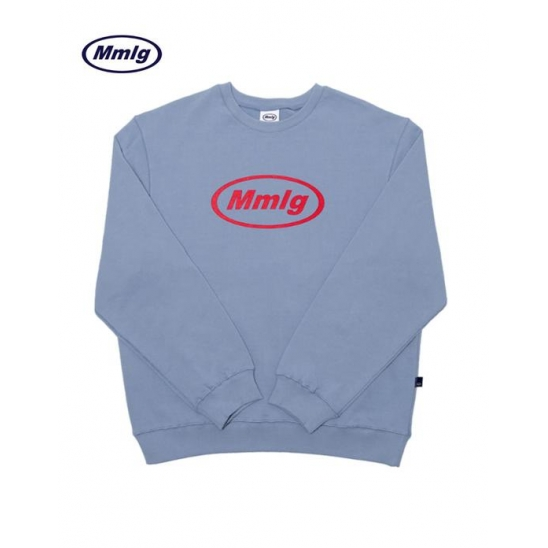 [Mmlg] Mmlg Sweat (MELANGE BLUE)
