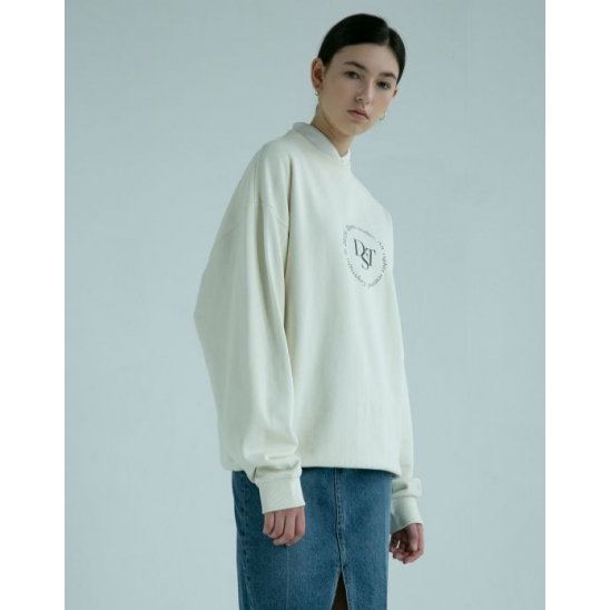 UNISEX DST SWEATSHIRT CREAM