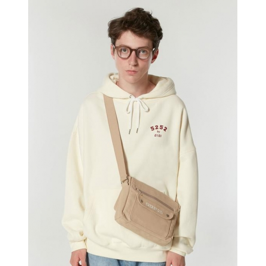 5252 ARCH LOGO HOODIE_IVORY