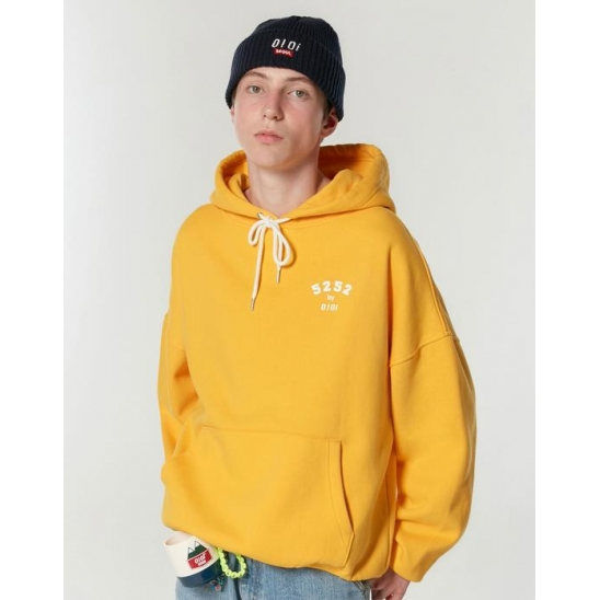 5252 ARCH LOGO HOODIE_YELLOW