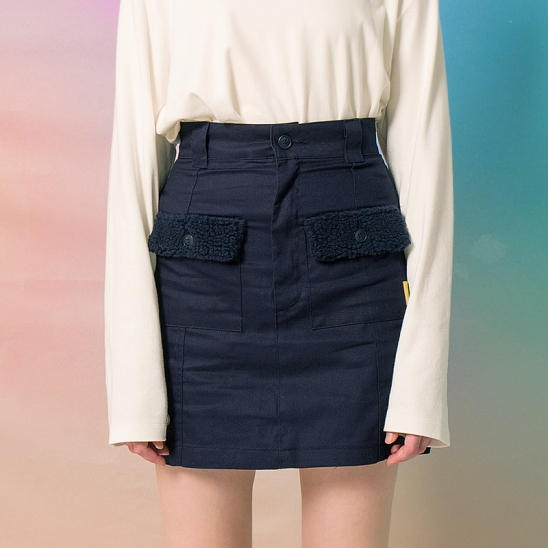 9F Mini Skirt(NAVY)