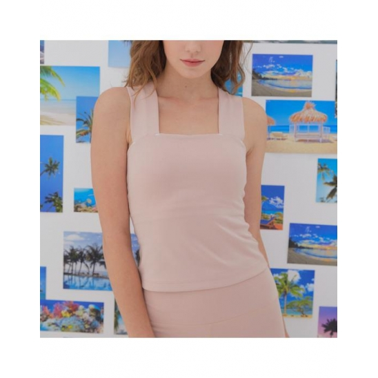 Square Tank Top_BABY PINK