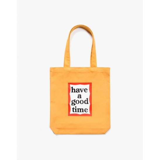 FRAME TOTE BAG - CHEDDAR CHEESE