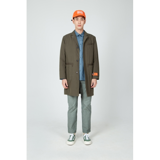 M SOLID CHESTER COAT