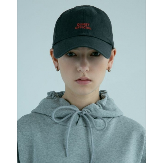 UNISEX LOGO EMBROIDERED BALLCAP GREY