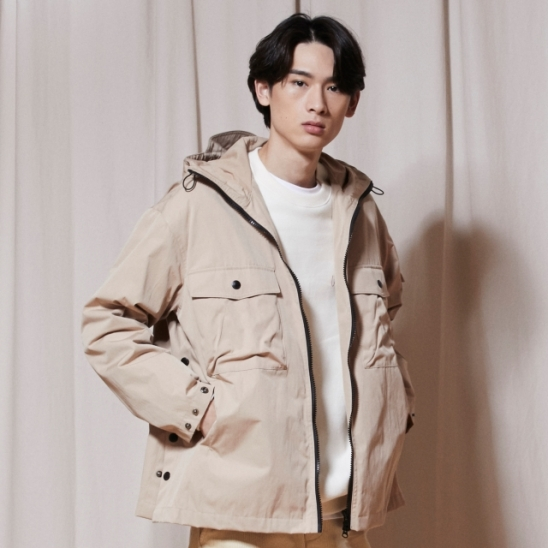 OL142_URBAN Windbreak Jacket_Beige