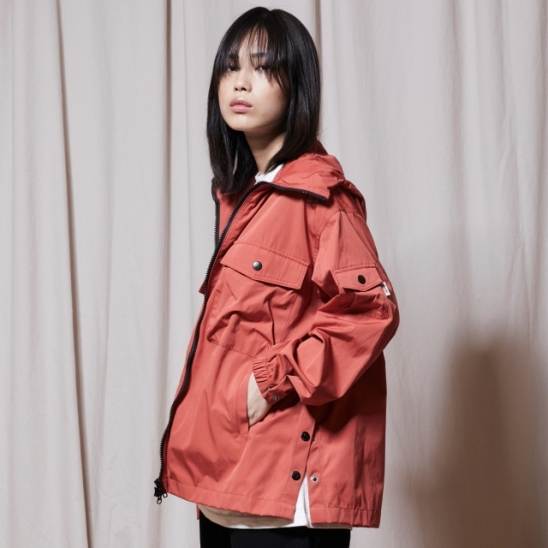 OL144_URBAN Windbreak Jacket_Orange