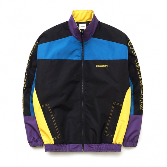 IG Retro Track Jacket (Black/Purple/Blue)