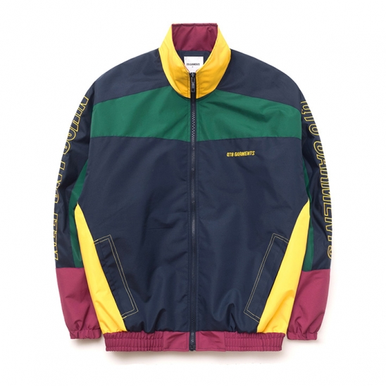 IG Retro Track Jacket (Navy/Yellow/Green)