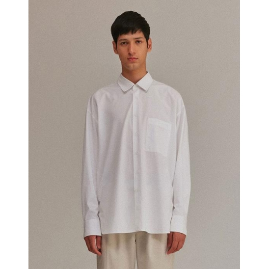 OVERFIT SHIRTS MEN [WHITE]