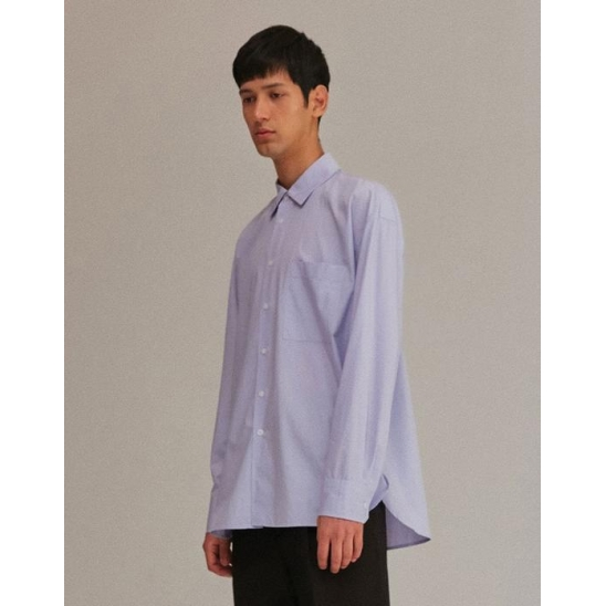 OVERFIT SHIRTS MEN [SKY BLUE]
