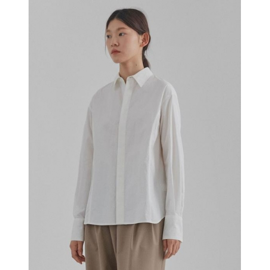 LINE SHIRTS WOMEN [WHITE]
