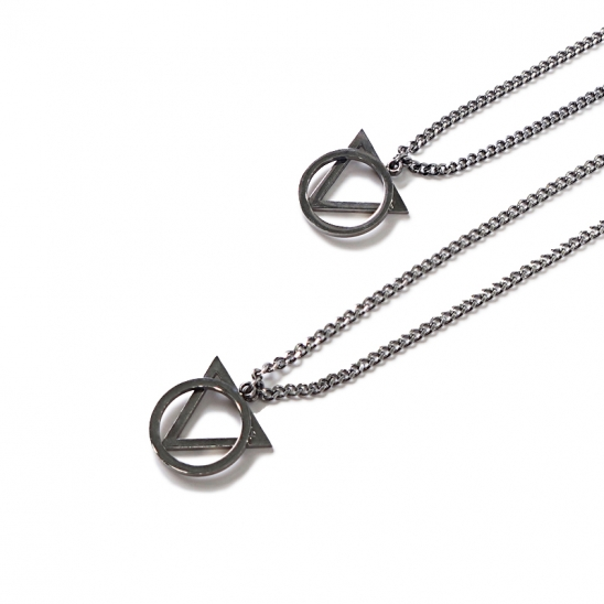 [0.387AU] Triangle Circle Necklace