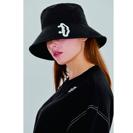 SMILE bucket hat [black]