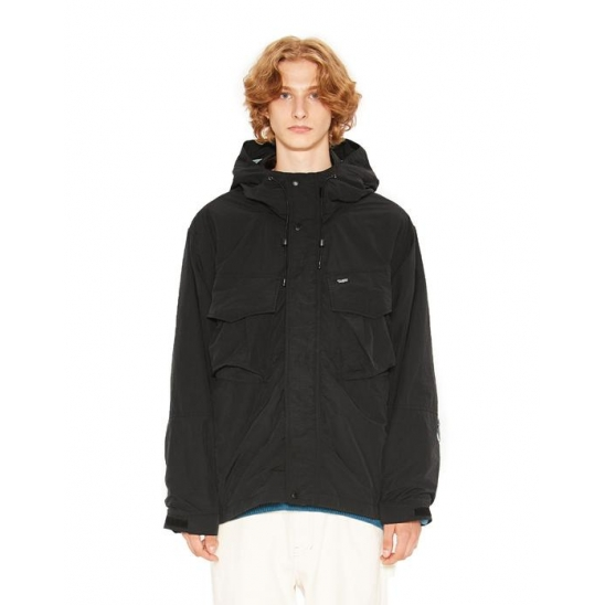UTILITY WINDBREAKER JACKET black