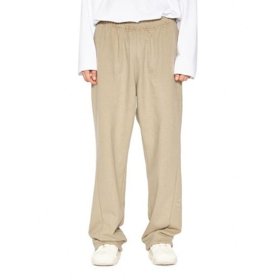 OVAL LOGO SWEATPANTS beige