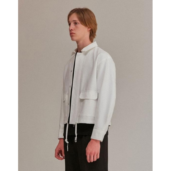 TWO POCKET JACKET MEN [IVORY]