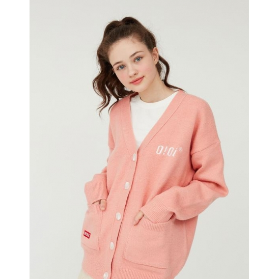 OVERFIT SOFT CARDIGAN_PINK