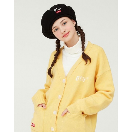 OVERFIT SOFT CARDIGAN_YELLOW