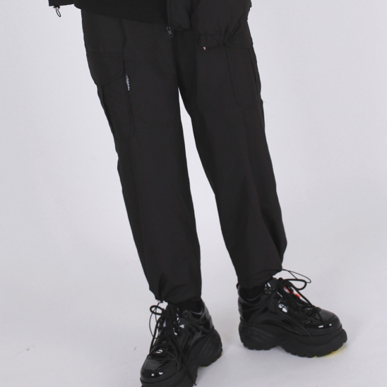 POCKET PANTS(BLACK)