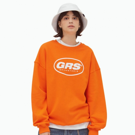 GRS CREWNECK-(ORANGE)