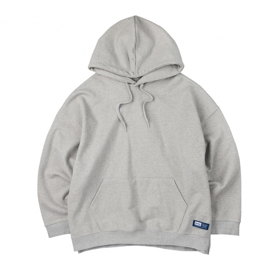 LABEL LOGO HOODIES (GRAY)