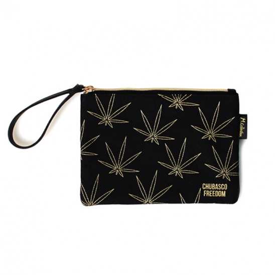M17304 M. Pouch. Weed Gold M (미디엄사이즈)