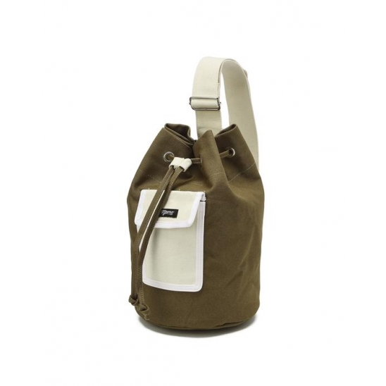 [KITS] 키츠 컬러 버킷 백 카키 (KITS COLOR BUCKET BAG KHAKI)