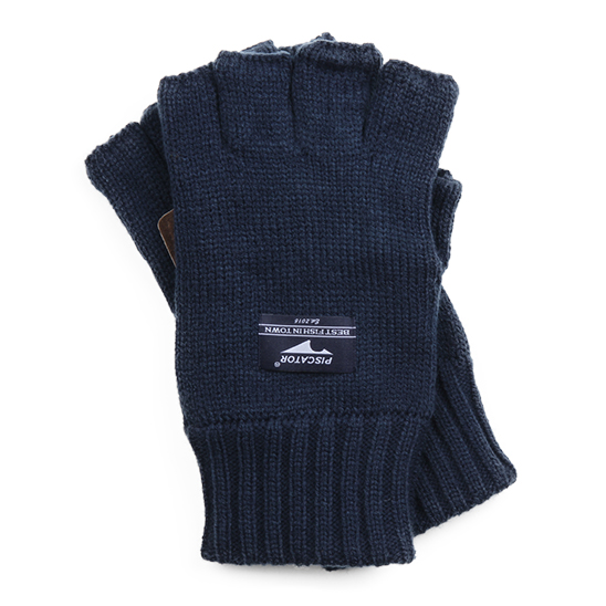 Essential Fingerless Gloves Navy
