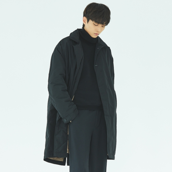 DUCK DOWN PADDING COAT (BLACK)