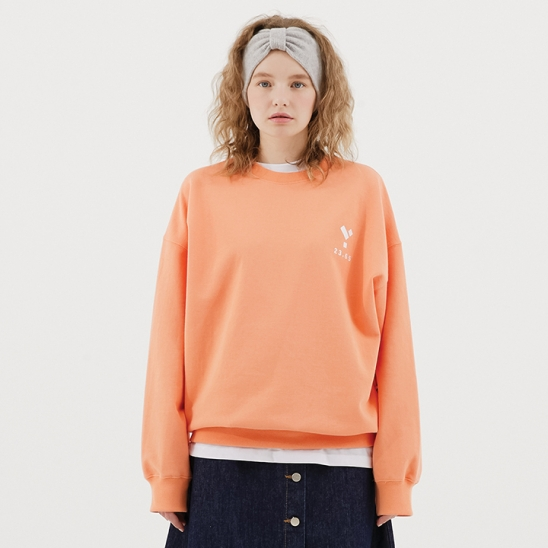 23.65 Logo Sweat Shirt Orange