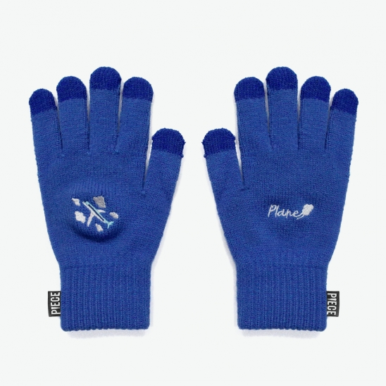 PLANE SMART GLOVES (BLUE)