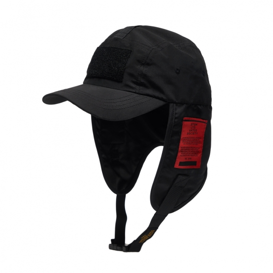 WASHED TECH FISHING CAP BLACK