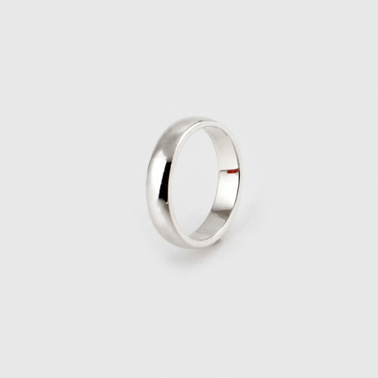 SVR-#S611 Thin Plain Ring (Silver 925)